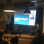 Sander Mak tijdens Java Modularity Meetup