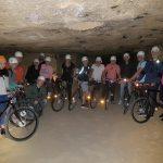 Groepsfoto in de grot